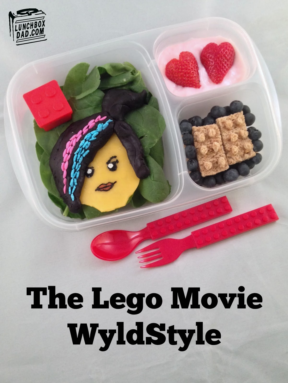 The Lego Movie Wyldstyle lunch