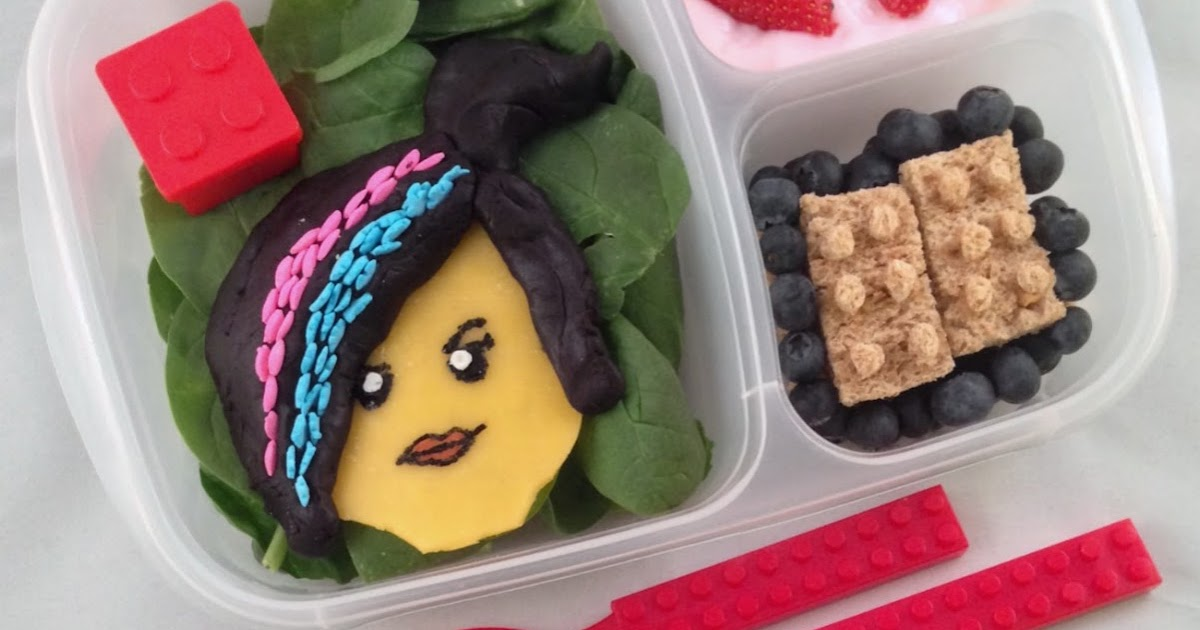 lunchbox dad the lego movie wyldstyle bento lunch. Black Bedroom Furniture Sets. Home Design Ideas