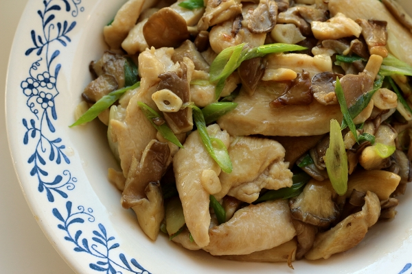 Mushroom and chicken recipes chinese food
