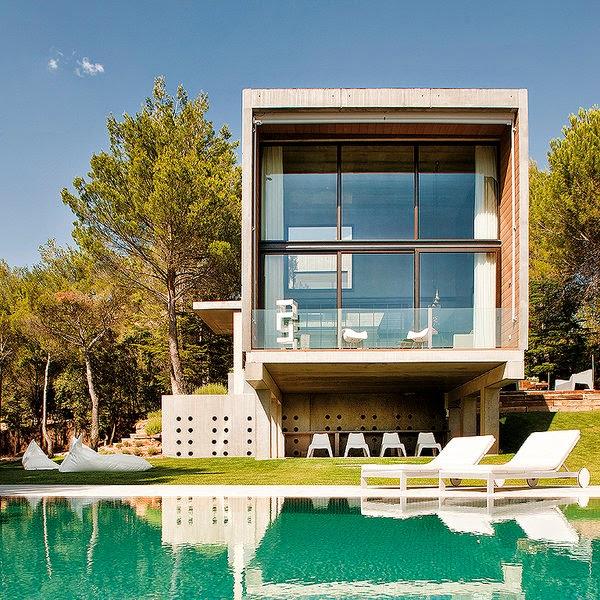 Una casa prefabricada