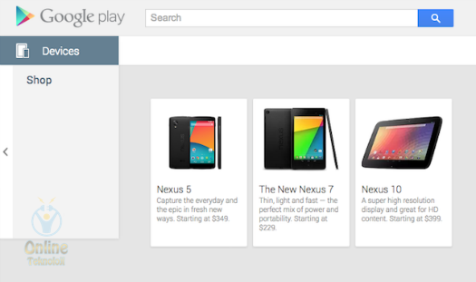 nexus 5 satış fiyatı