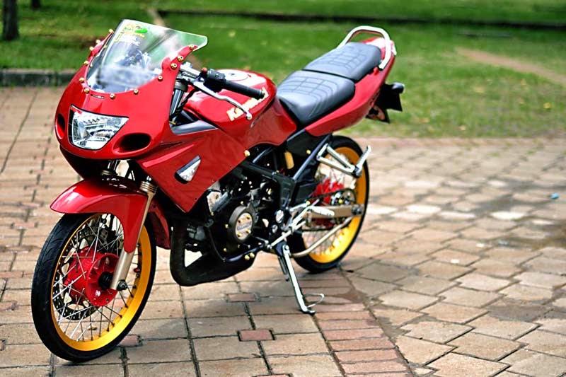 terbaru modifikasi motor ninja 2 tak