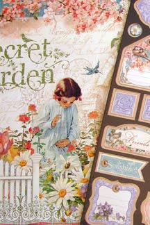 Graphic45 Secret Garden