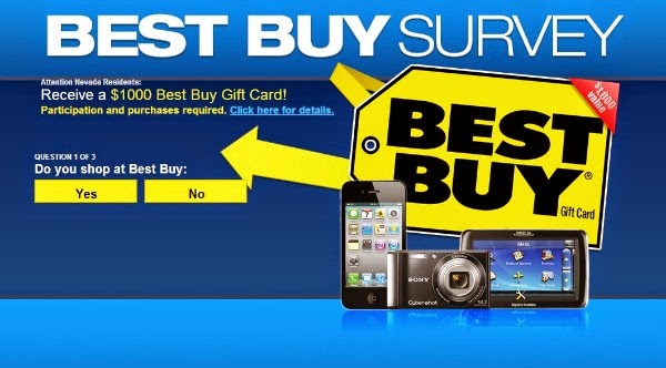 Win A $1000 Best Buy Gift Card