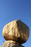 Golden rock, Kyaitko, Myanmar