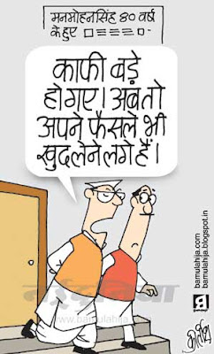 congress cartoon, manmohan singh cartoon, upa government, indian political cartoon, FDI in Retail