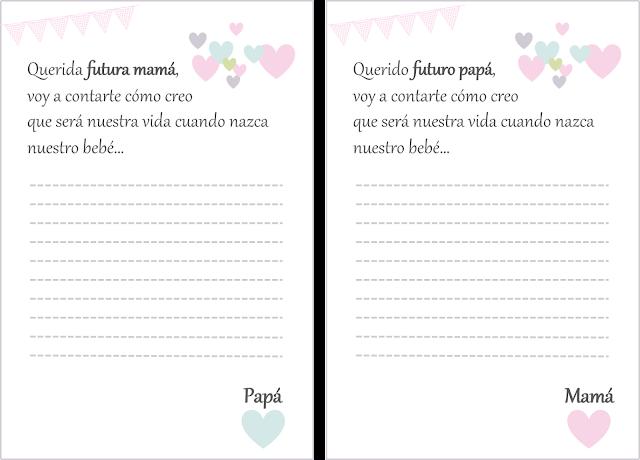 carta embarazo pareja amor