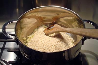 Risotto zafferano e gorgonzola 2