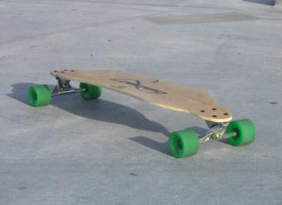 Bamboo Longboard2