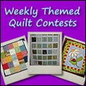 Weekly Contest  From Quilting bloggers