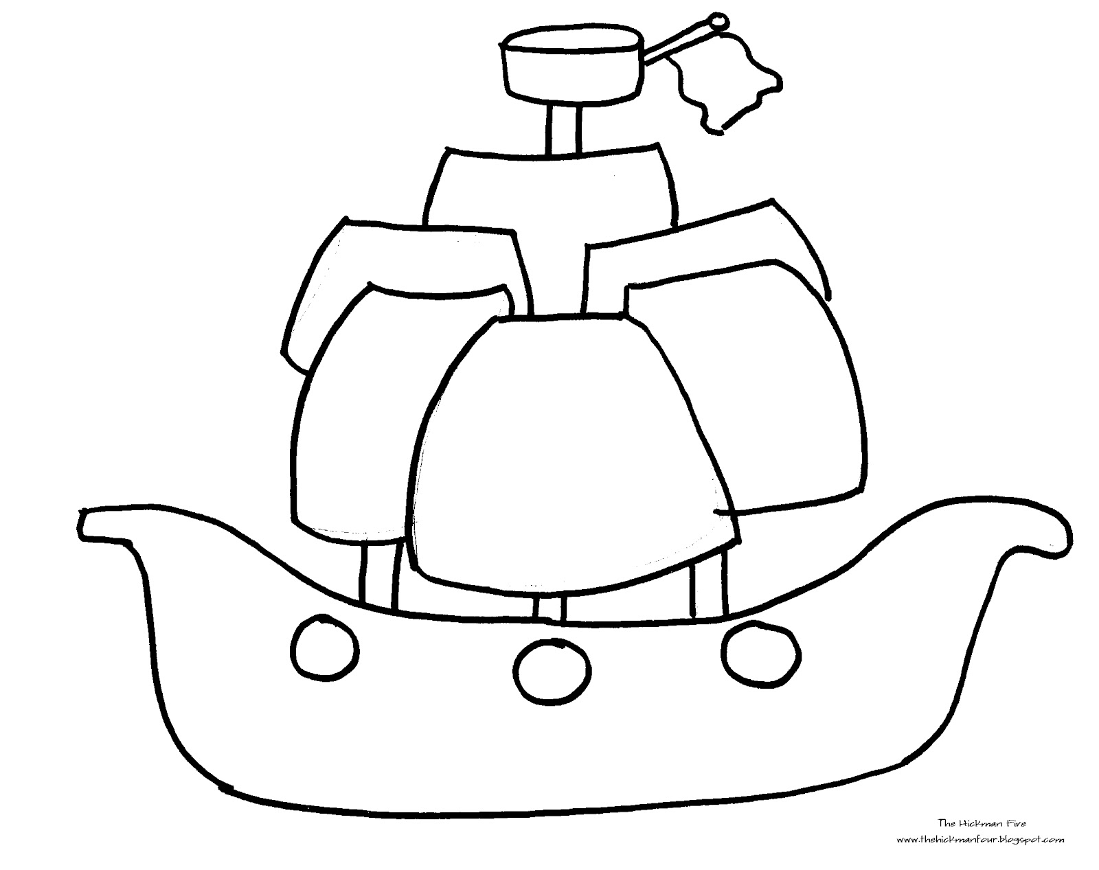 pirate ships colouring pages page 2