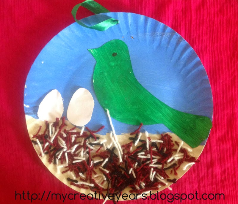 & Wall Hanging Paper Plate Craft