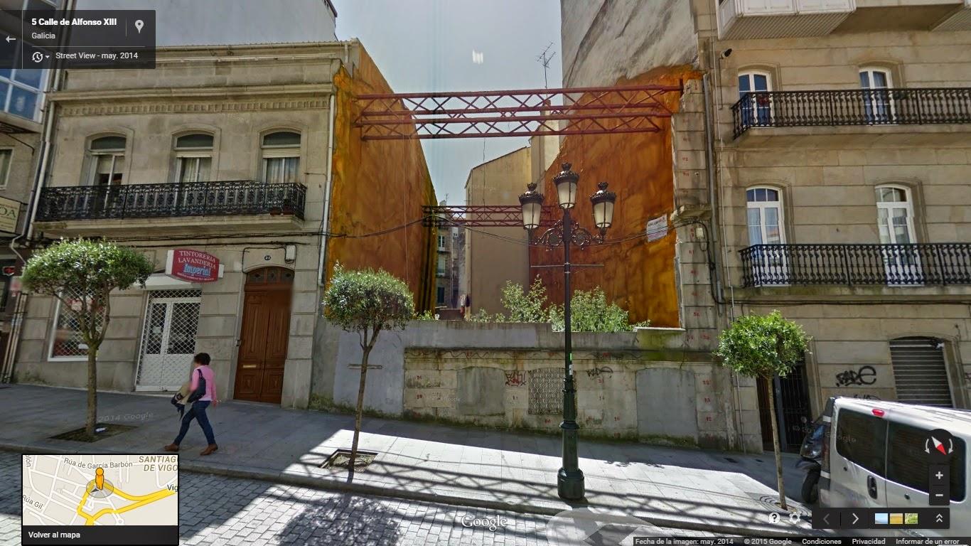 El vigo oculto edificios desaparecidos 1 santiago de vigo for Casa planta vigo