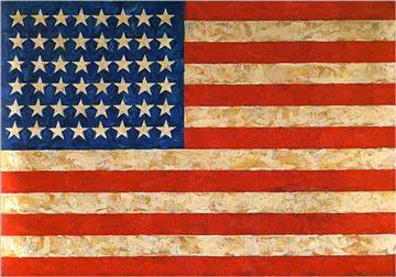 """The Flag"" by Jasper Johns (118.3 Million)"