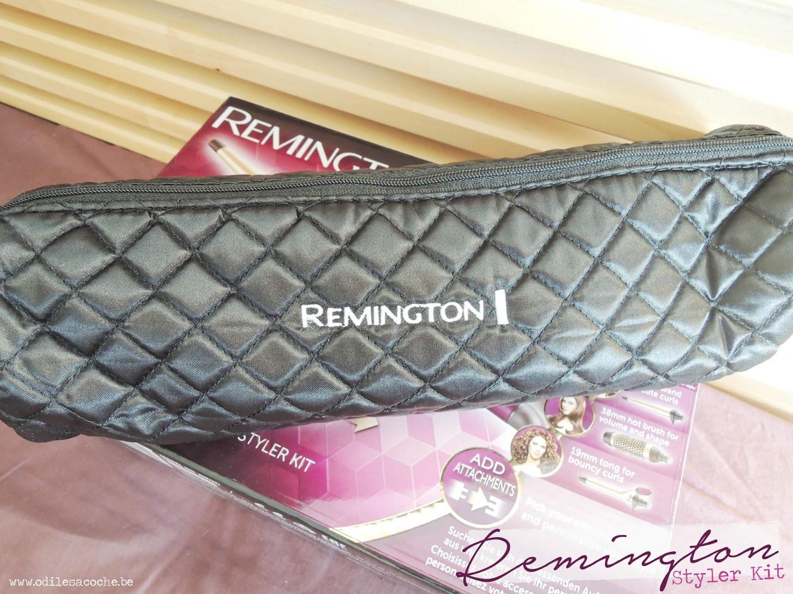 trousse remington kit styler