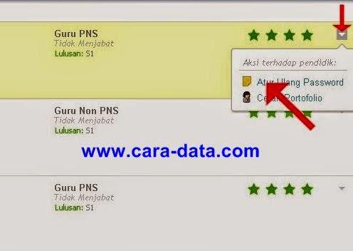 Klik Atur Ulang Password