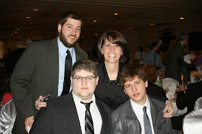 My sons, Joshua, Jason, Jamie & I