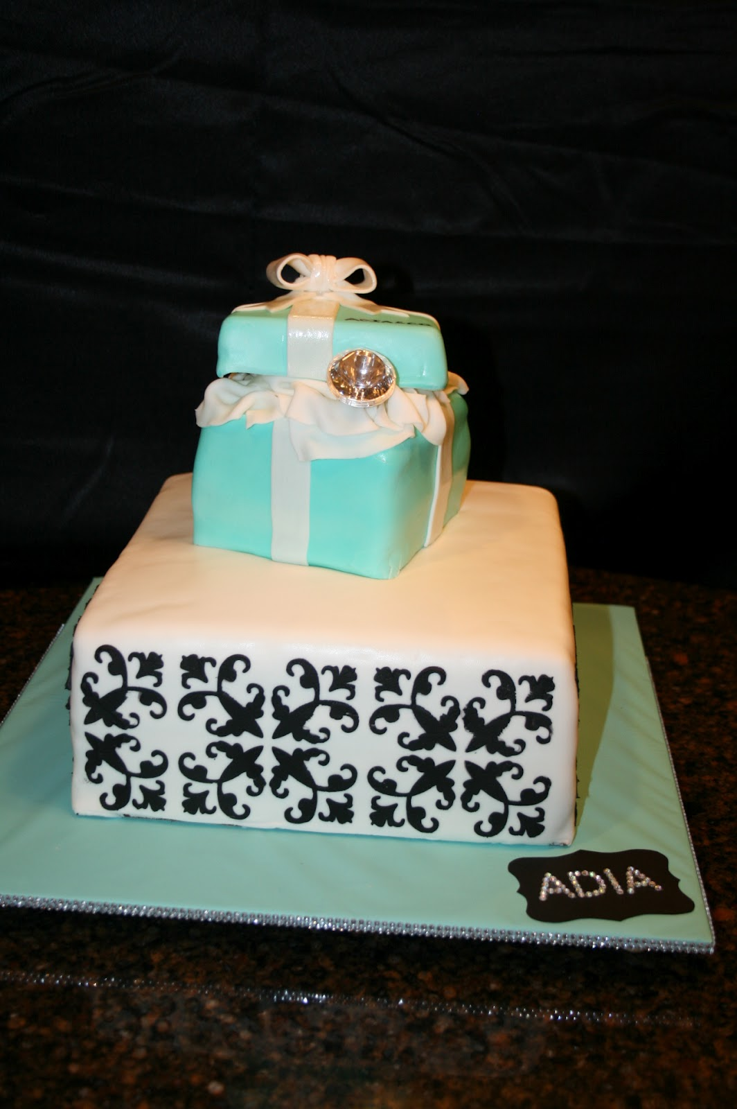 Design Your Own Photo Cake : cutebugdesigns: Guest Post - Make your own cake stencils