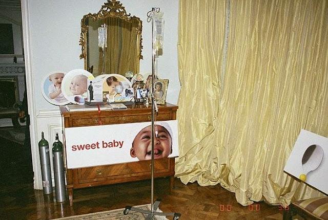 Asi quedó el dormitorio de Michael