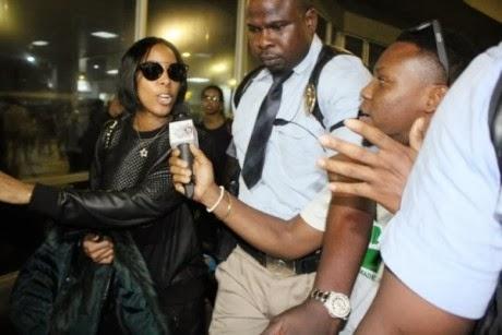 Kelly Rowland Nigeria Valentine concert