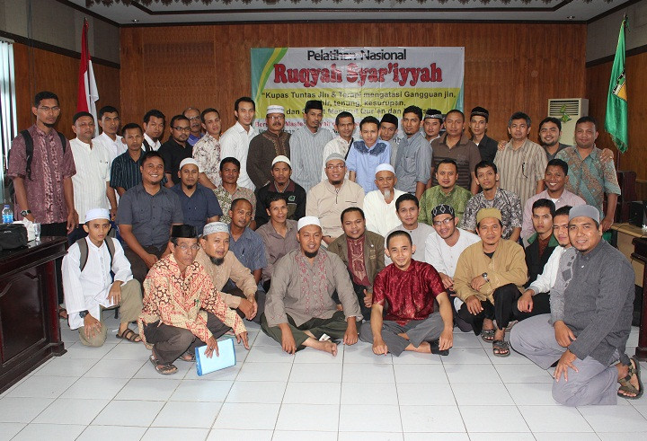 TRAINING QURANIC HEALING ANGKATAN KE VI (ENAM)