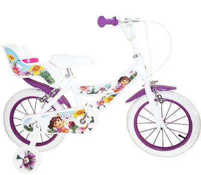 TOYS : JUGUETES - Dora La Exploradora - Bicicleta infantil  Toimsa | Serie de Televisión | Comprar en Amazon España