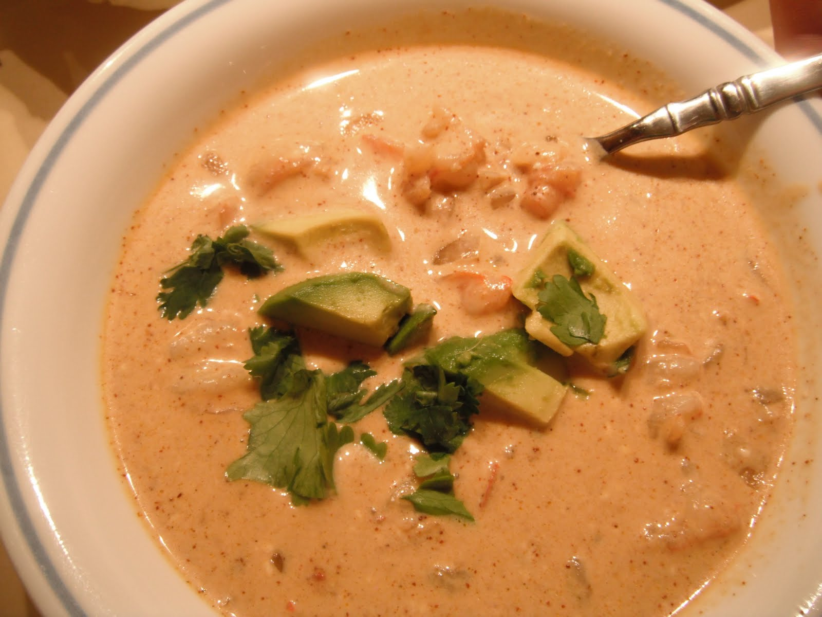 Marla's Lemonade Stand: Tasty Tuesday: Mexican Shrimp Bisque