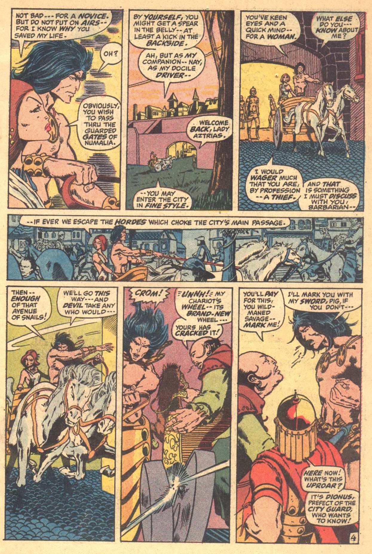 Conan the Barbarian (1970) Issue #7 #19 - English 5