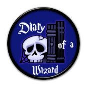 My Diary of a Wizard Badge