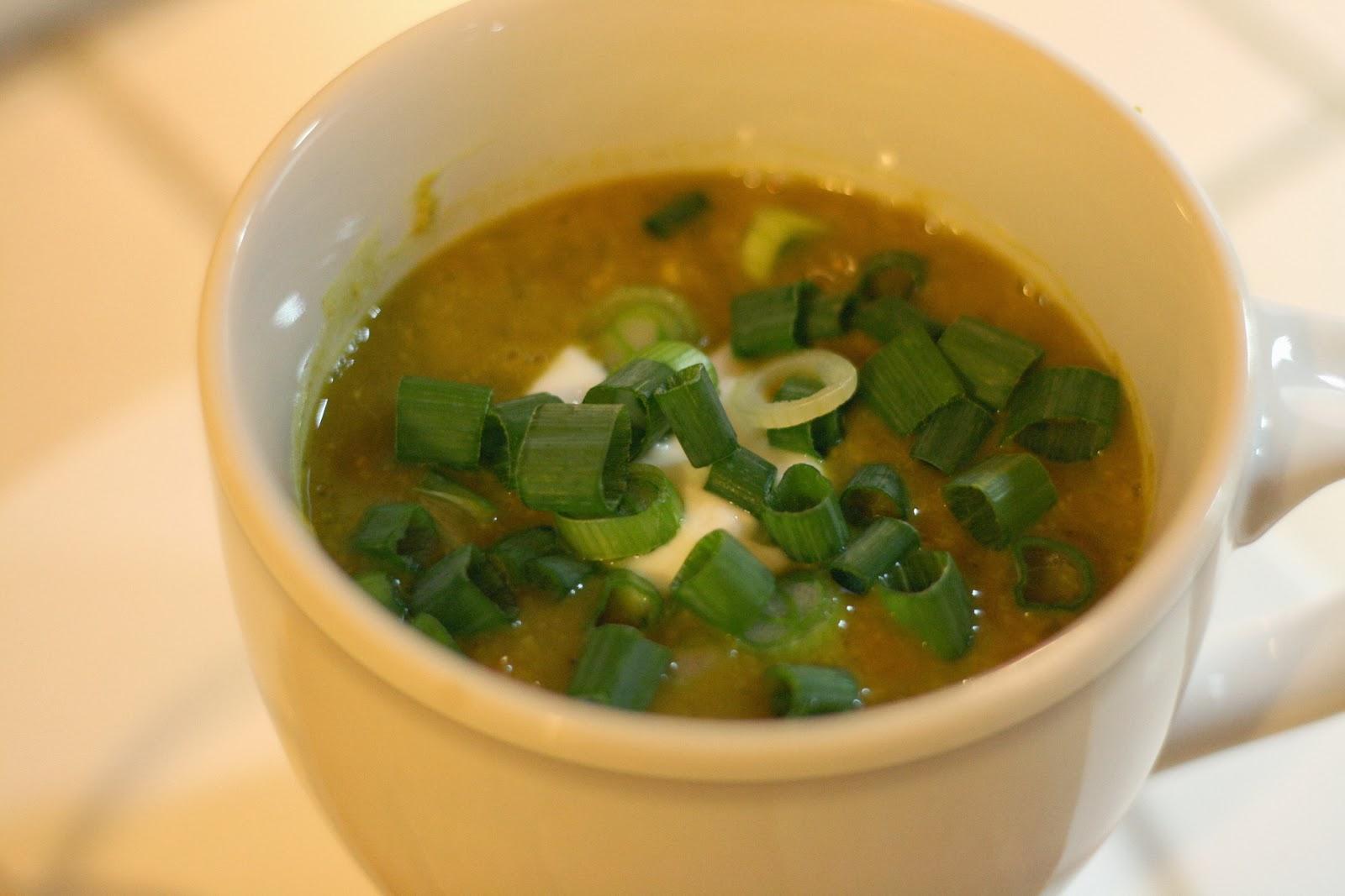 Laine's Recipe Box: Curried Lentil Soup