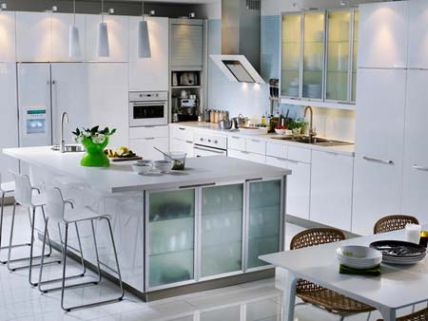 White Kitchen Cabinet Design cabinets for kitchen: latest white kitchen cabinets design