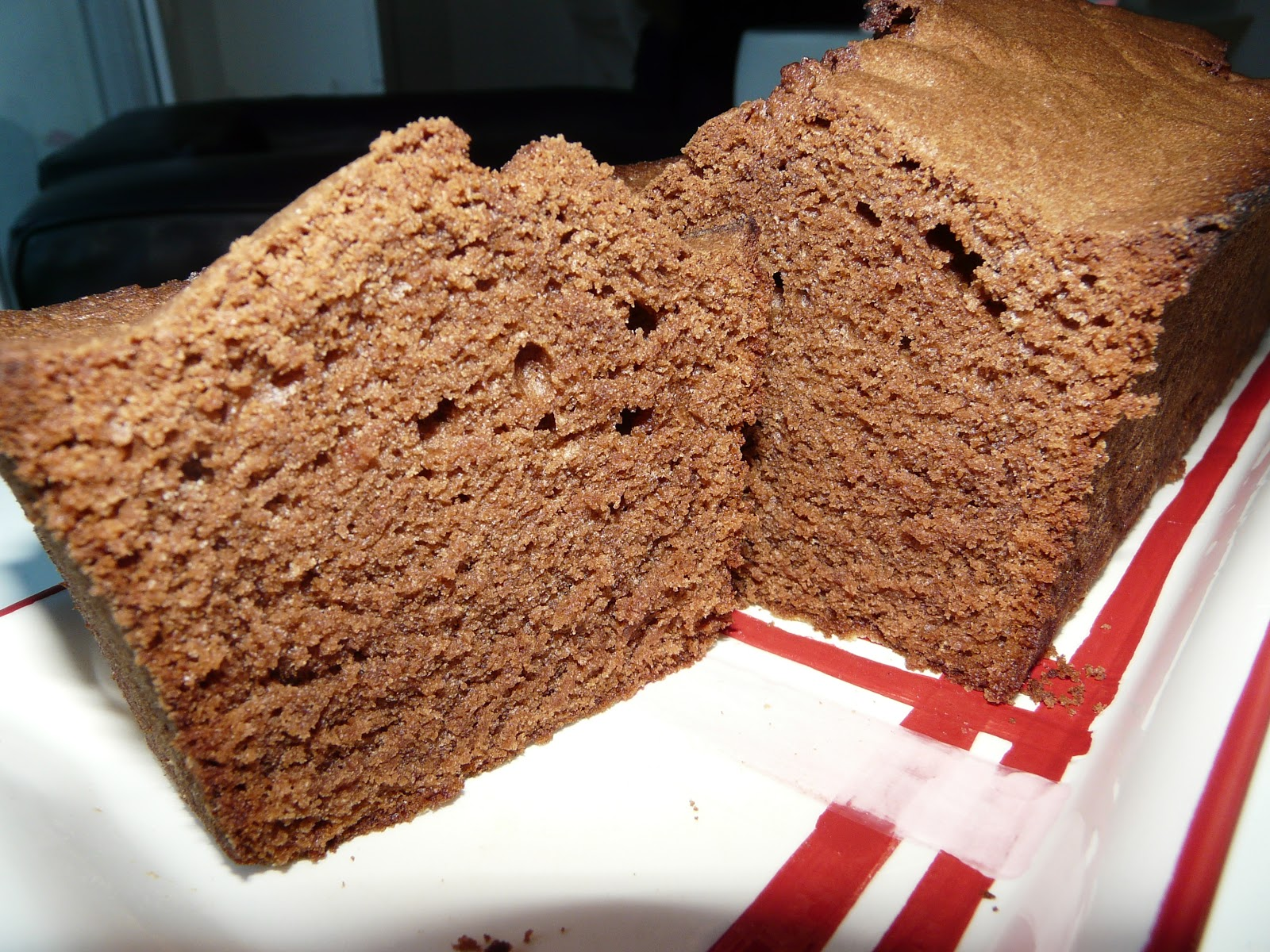 Cake simple au chocolat