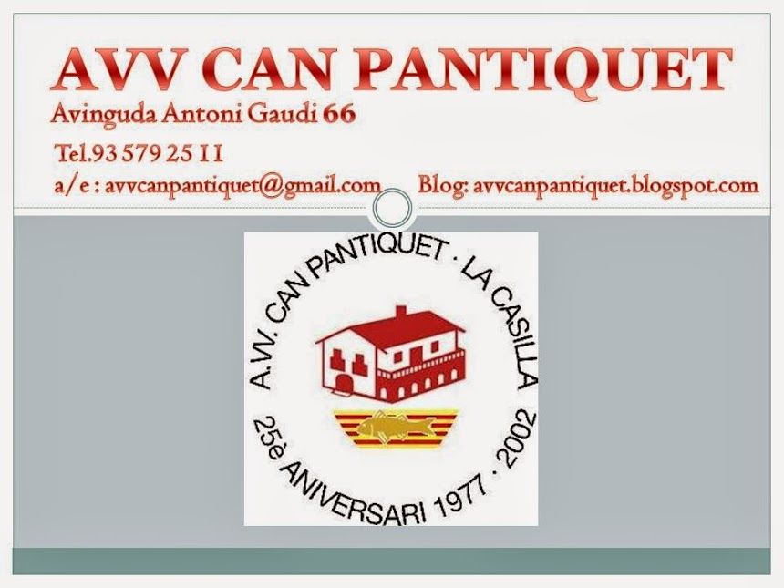 AVV CAN PANTIQUET