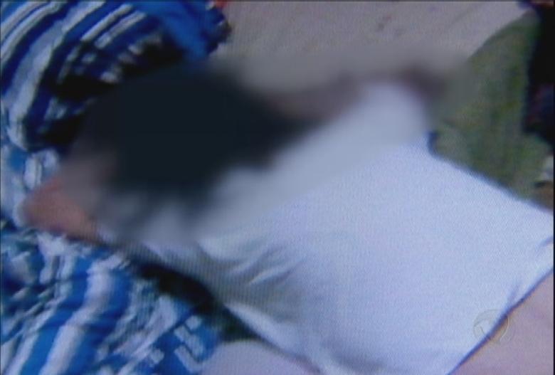 Fotos dos corpos da família de policiais militares assassinados vítima de uma chacina em São Paulo