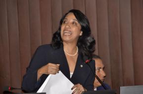 Guadalupe Valdez en Desacuerdo con Aprobación Presupuesto 2012