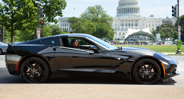 "2014 Chevrolet Corvette in ""Captain America"" Sequel"