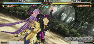 Foranimeku - Fate Unlimited Codes PSP