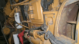 Caterpillar Stand by diesel generators, for sale, India, with canopy, Industrial diesel generators, low running hours, reconditioned, second hand, used, removed from ship, overhauling