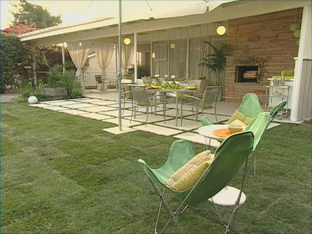 Braxton and yancey patio culture and mid century landscaping for Garden design 1960s