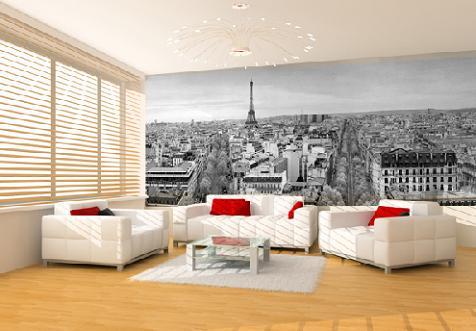 Murales para paredes cocinas modernas for Murales en 3d para salas