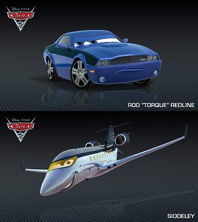 """Disney Noticias Mexico: Dos personajes mas de """"Cars 2"""""""