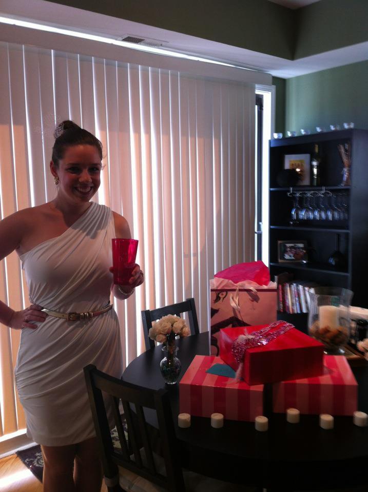 Bachelorette party posts weddingbee blog for Bachelorette apartment