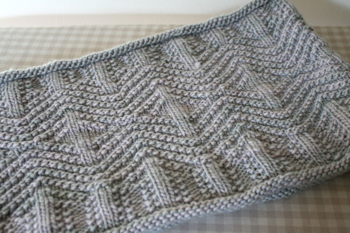 sam lamb: knit and purl