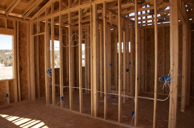 Payson Ponderings: Rough Electrical and HVAC