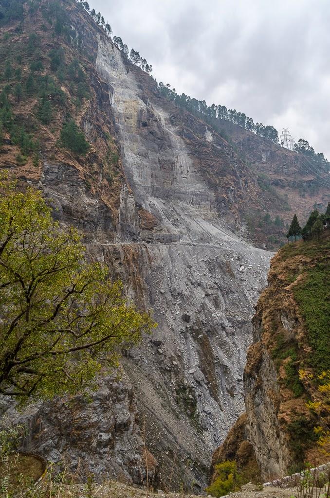 landslides near badrinath