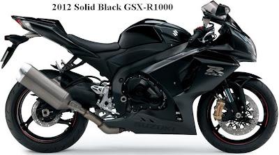 2012 Suzuki GSX-R1000 - Black Color