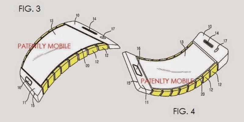 Samsung Rancang Ponsel Berlayar Fleksibel?