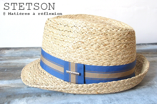 Code Promo chapeau Stetson paille raffia