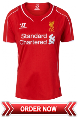Jersey Cewe Terbaru Club Liverpool Home 2014 - 2015 Grade ORIGINAL