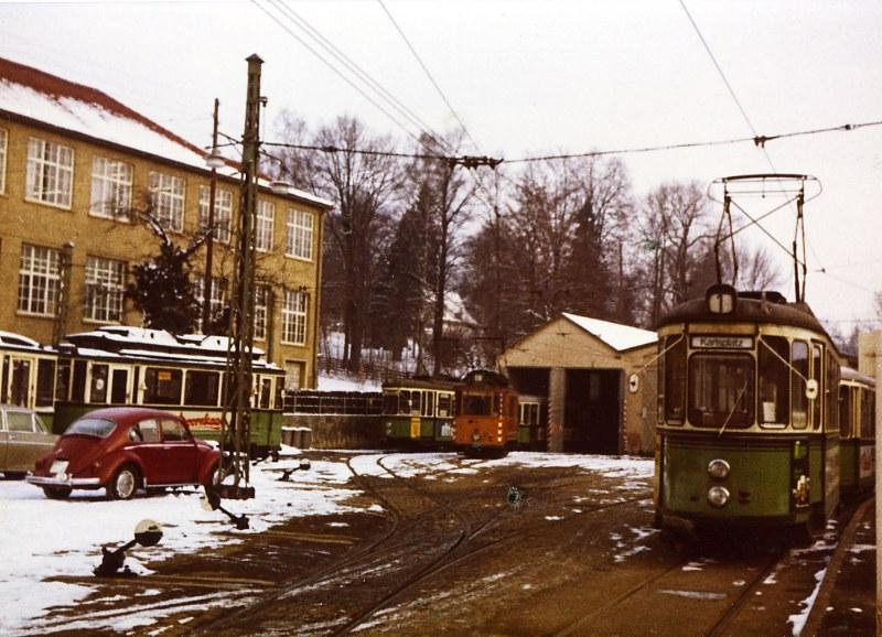 Eningen U A Neue Fotos Endstation Mit Stra Enbahn